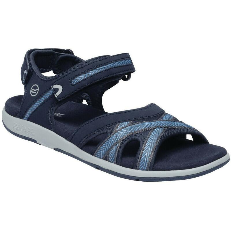Womens/Ladies Santa Clara Sandals (Navy/Blue Skies)