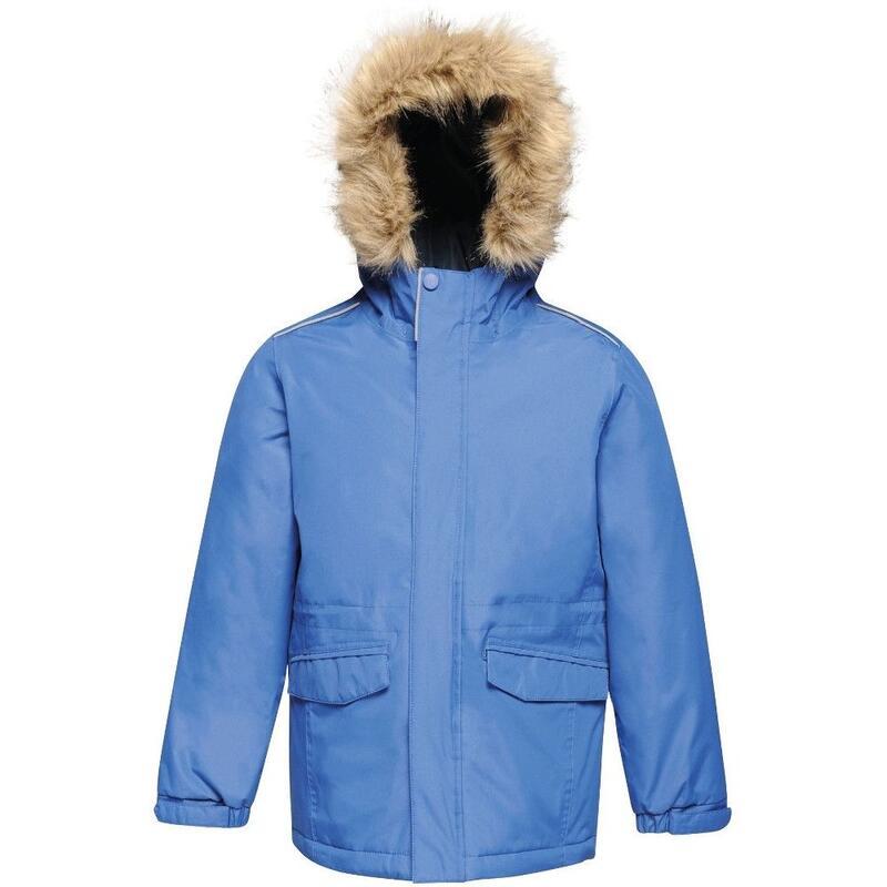 Childrens Cadet Parka Jacket (Royal Blue)