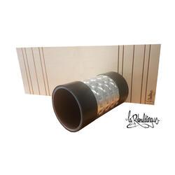 PVC-rol ø 14 cm + plank 66 cm x 24,5 cm Laribouldingue