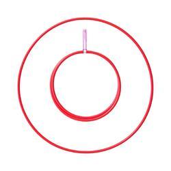 Hula Hoop Play pliable tube 16 mm ø 80 cm – Rouge