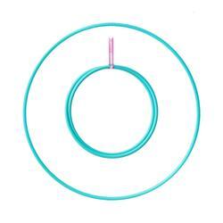 Hula Hoop Play pliable tube 16 mm ø 80 cm – Turquoise