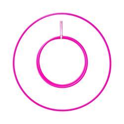 Opvouwbare hoepel Play buis 16 mm ø 80 cm – Roze