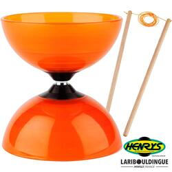 Diabolo Beach Henrys ø 120 – Orange + Bag. Bois