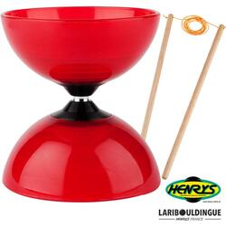 Diabolo Beach Henrys ø 120 – Rouge + Bag. Bois
