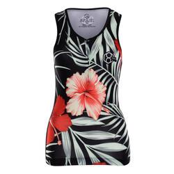 Maillot sans manches, design floral 8ight, pour les jours chauds et le spinning