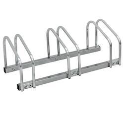 Fietsenstandaard voor 3 fietsen 71x32x27 cm in gegalvaniseerd staal