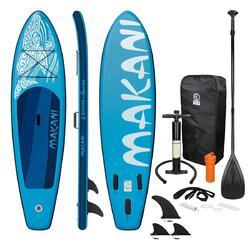 Prancha de surf stand up paddle Makani Blue 320 x 82 x 15 cm