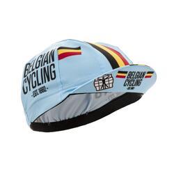 Bioracer Casquette de cyclisme officielle de l'équipe belge - Belgian bleue