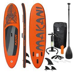 Stand Up Paddle Board prancha de surf Orange Makani 320 x 82 x 15 cm