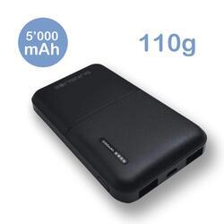 Gravity 5 | Batterie externe 5000mAh allégée et puissante power bank