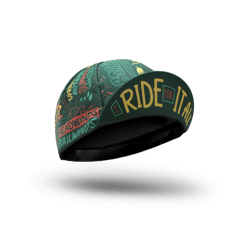 CASQUETTE VÉLO 'I Ride For It All'