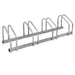 Fietsenstandaard voor 4 fietsen 100x32x27 cm in gegalvaniseerd staal