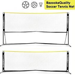 Soccer Tennis Net Extendable 300X100 cm