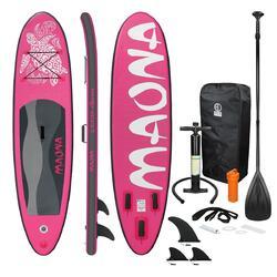 Prancha de surf stand up paddle 308 x 76 x 10 cm Rosa Maona
