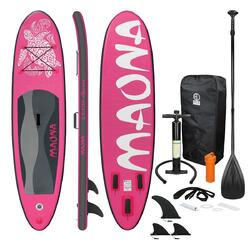 Stand Up Paddle Board Surfboard 308 x 76 x 10 cm Roze Maona