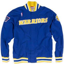 Veste d'échauffement M&N Nba Golden State Warriors