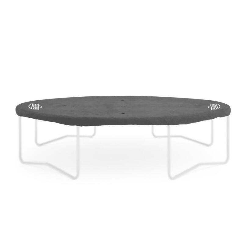 Housse de protection Extra 380 cm gris pour trampoline ronde