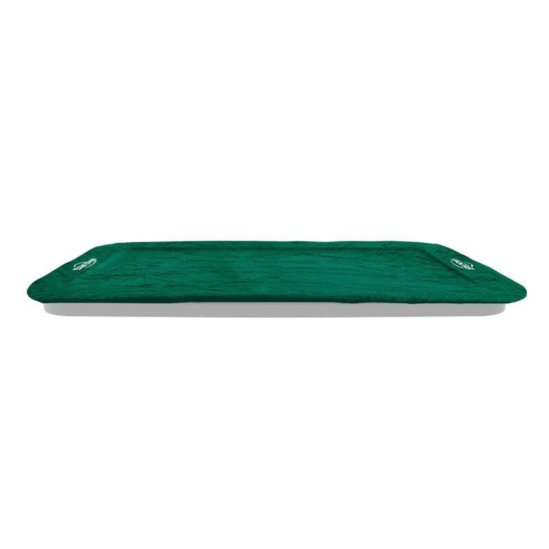 Ultim Housse de protection Extra 410 cm vert pour trampoline rectangulaire