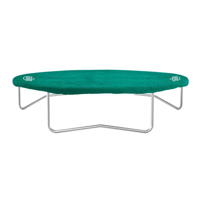 Housse de protection Extra 380 cm vert pour trampoline ronde