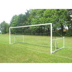 twee opvouwbare voetbaldoelen voor 8 spelers