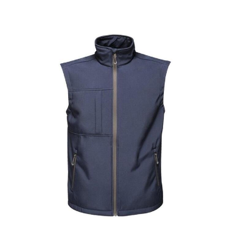 Veste sans manches Softshell OCTAGON II Femme (Bleu marine / gris)