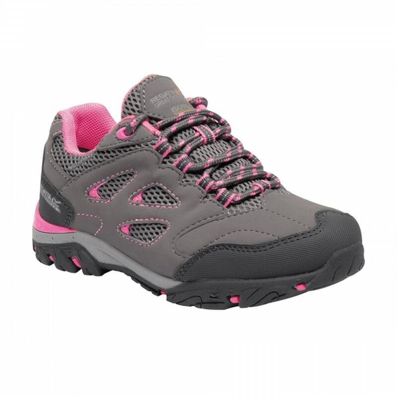 Chaussures de randonnée HOLCOMBE Unisexe (Gris/rose)