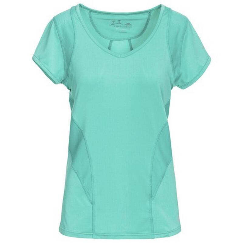 Erlin Tshirt à manches courtes Femme (Bleu clair)