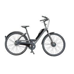 Sportieve e-bike: batterij met usb aansluiting. 7 speed, 9ah, zwart+I37