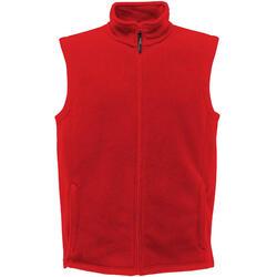 Heren 210 Microfleece Bodywarmer / Gilet (Klassiek rood)