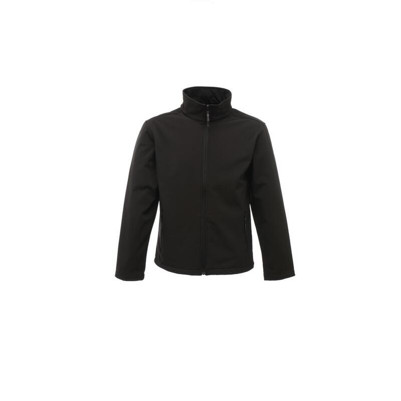 Klassiekers Mens 3 Layer Softshell Jacket (Allemaal zwart)
