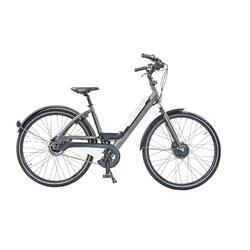 E-bike sportif: batterie amovible avec connexion USB. 7 speed, 9ah, blanc
