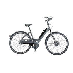 Sportieve e-bike: batterij met usb aansluiting. 3 speed, 13 ah, zwart