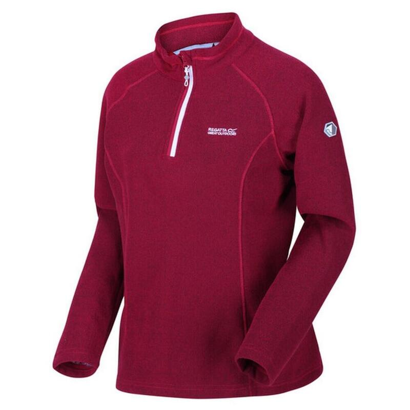 Dames Kenger Fleece Vest (Donkere Cerise)