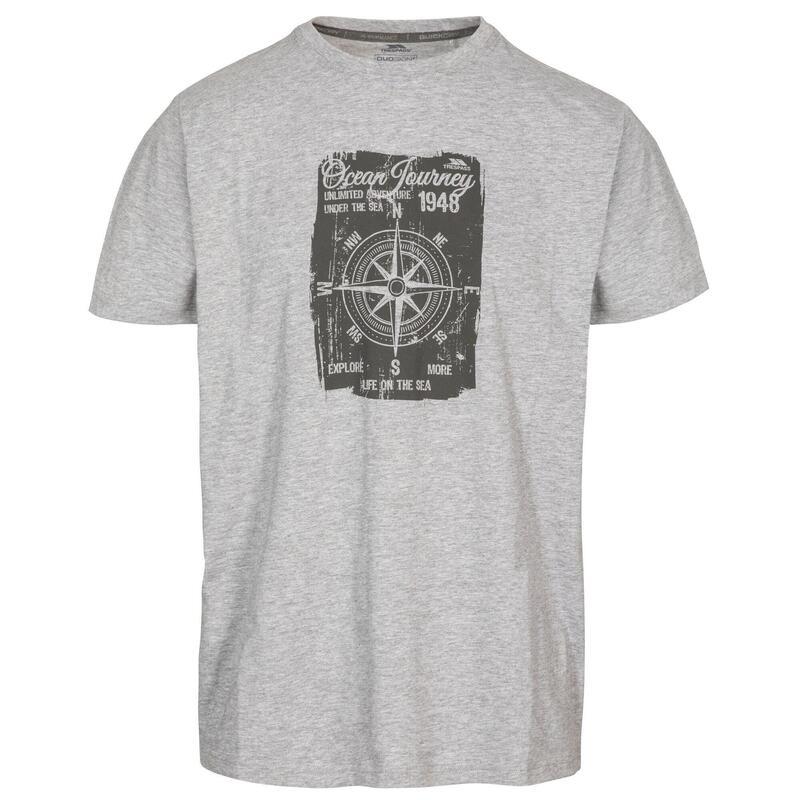 Tshirt COURSE Homme (Gris chiné)