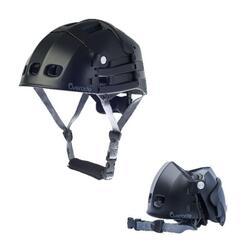 Casque pliable Plixi FIT noir pour vélo ou trottinette