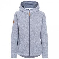 Dames Reserve Fleece Vest met Capuchon (Denim Blauw)