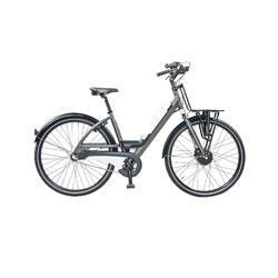 Urban e-bike: voordrager XL, batterij met usb aansluiting. 3 speed, 13ah, wit