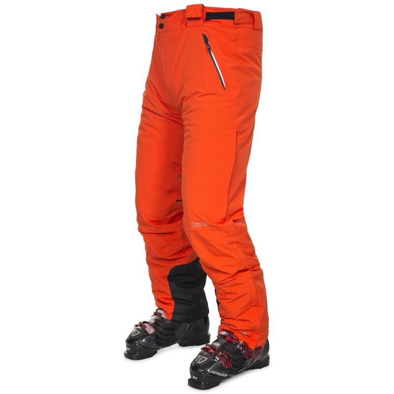Pitstop Pantalon de ski imperméable Homme (Orange)