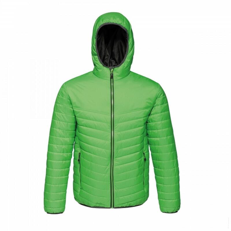 Doudoune à capuche ACADIA II Homme (Vert / noir)