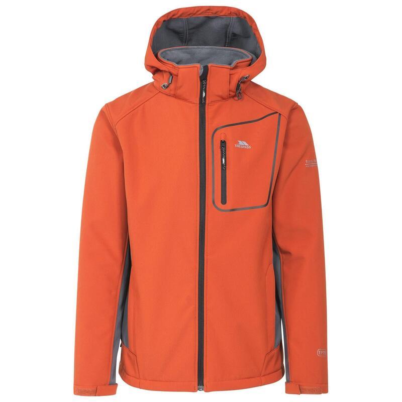 Heren Strathy II Softshell Jacket (Gebrande sinaasappel)