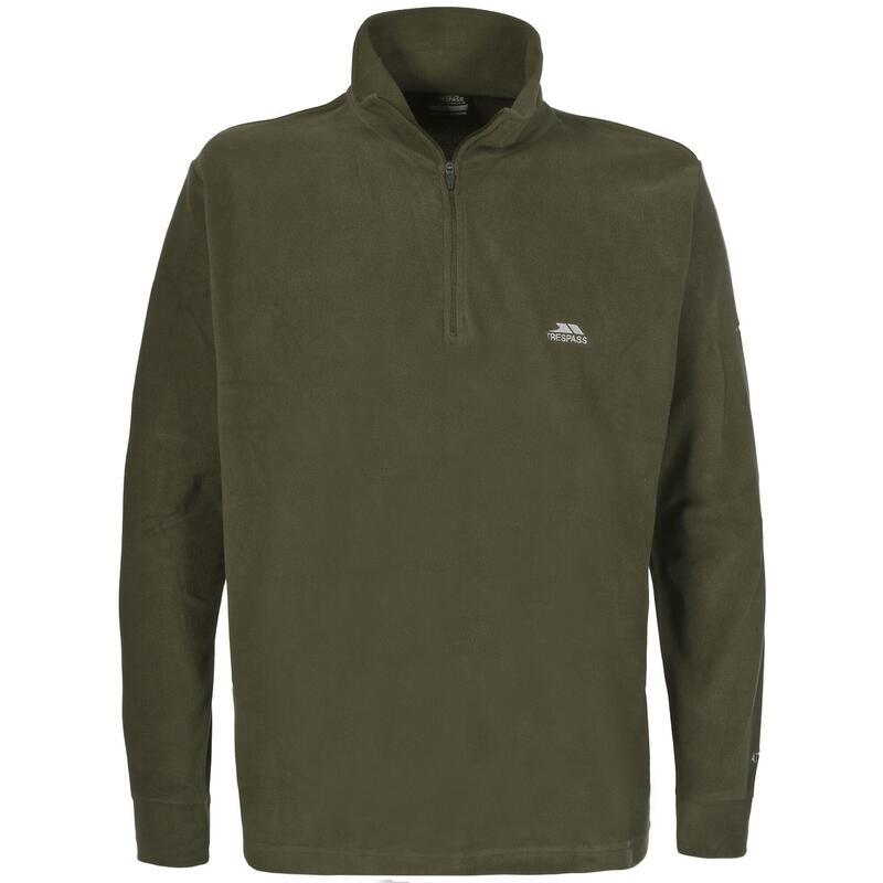 Heren Masonville Half Zip Microfleece Sweater (Groen)