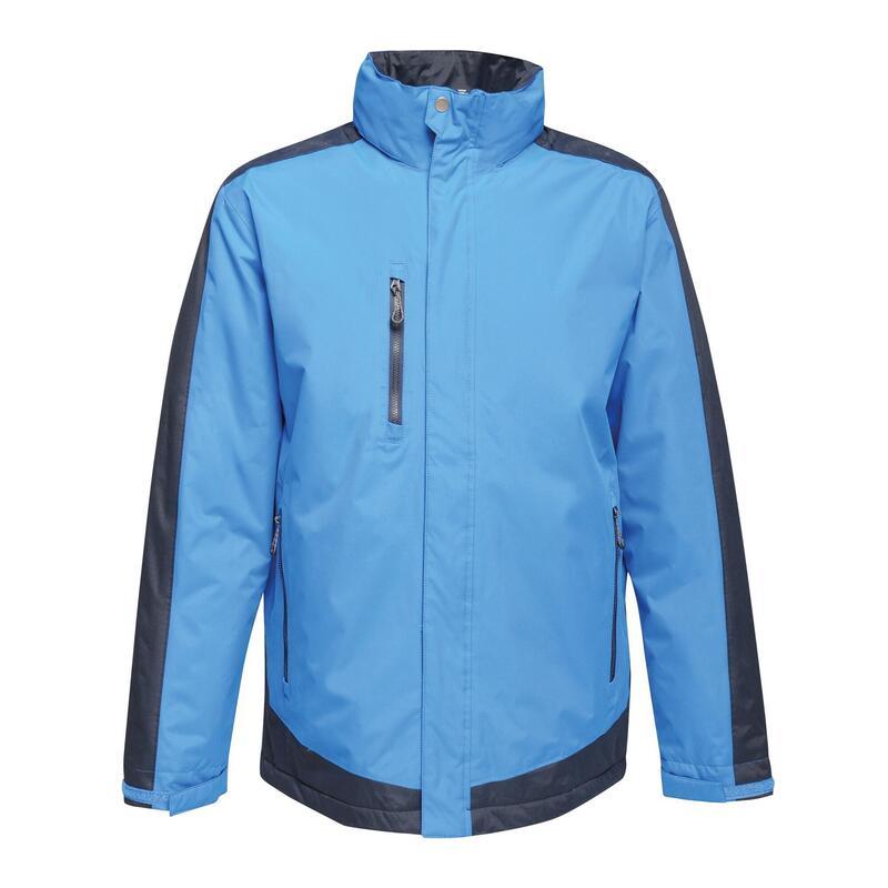 Manteau thermique CONTRAST Homme (Bleu roi / bleu marine)