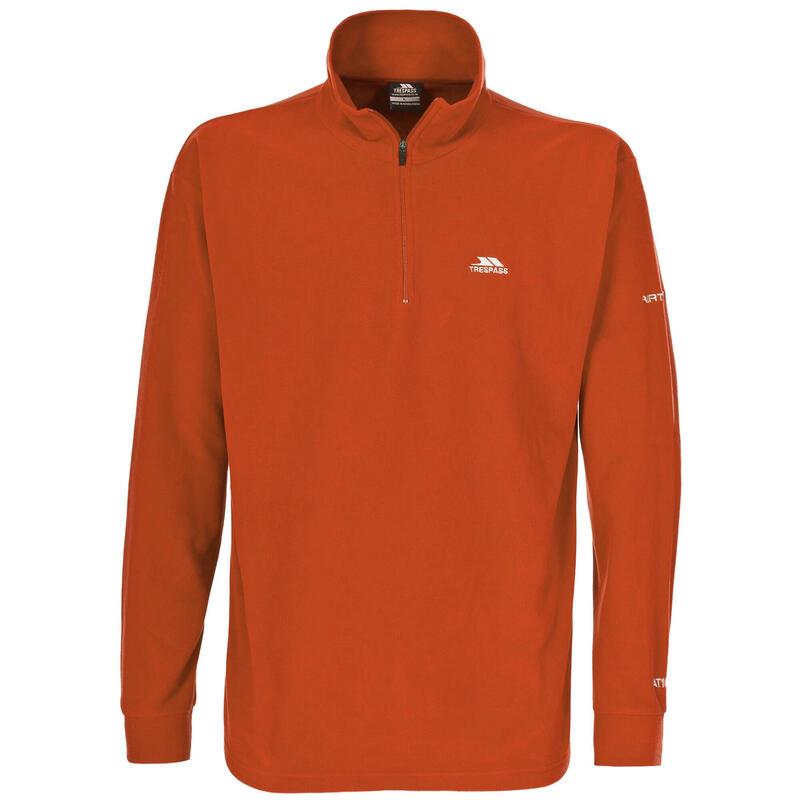 Heren Masonville Half Zip Microfleece Sweater (Oranje)