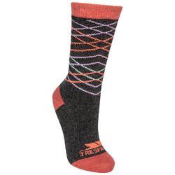 Vrouwen/dames Annika Casual Socks (Koolstof)