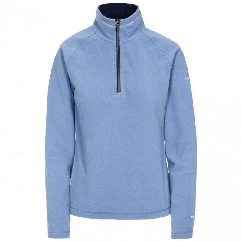 Dames Skylar Fleece Top (Blauw)
