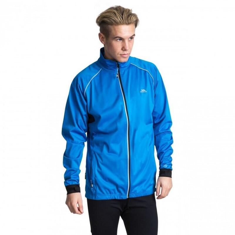 Blocker Veste de sport imperméable Homme (Bleu vif)