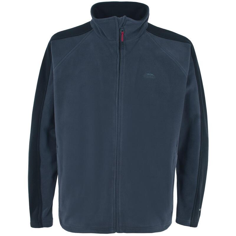 Heren Acres Full Zip Fleece Vest (Navy)