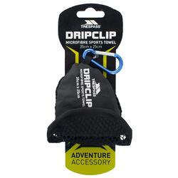 Dripclip Serviette de sport en microfibre (Bleu)