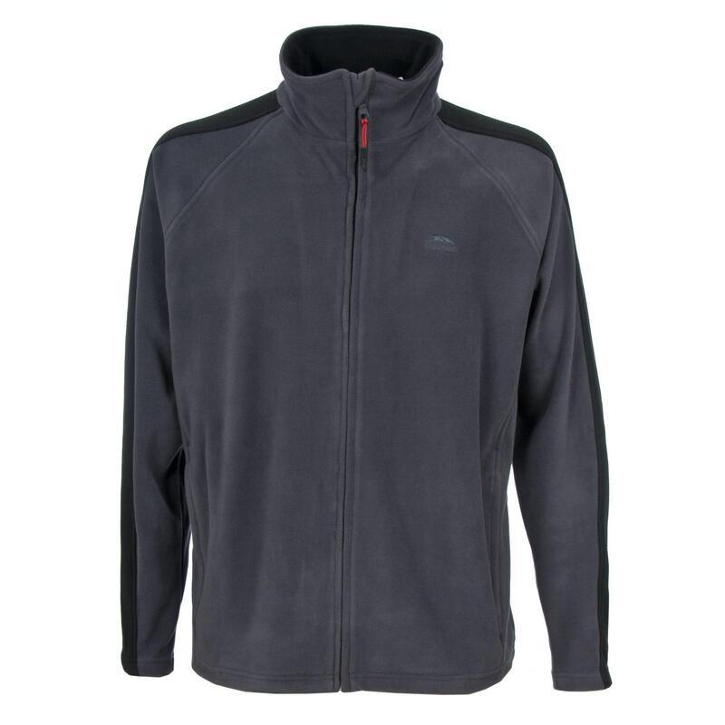 Heren Acres Full Zip Fleece Vest (Grijs)
