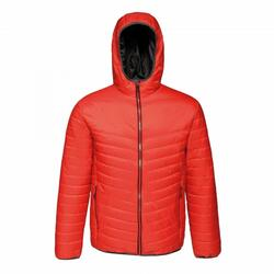 Doudoune à capuche ACADIA II Homme (Rouge / noir)